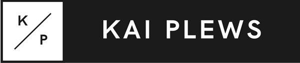 Kai Plews Photography + Design Retina Logo